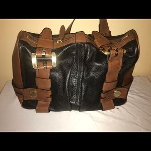 Micheal Kors Brown and Black leather purse